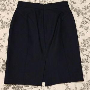 J. Crew Skirts - Like New J Crew Navy Pencil Skirt